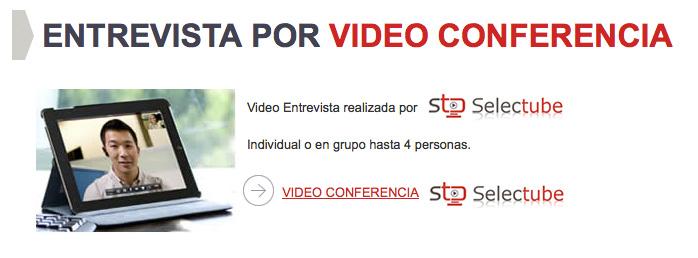 Entrevista Videoconferencia