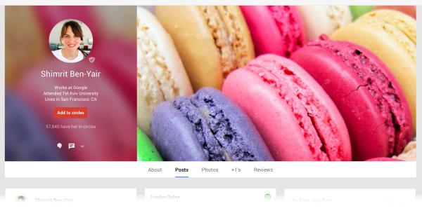Imagen de Perfil Google+