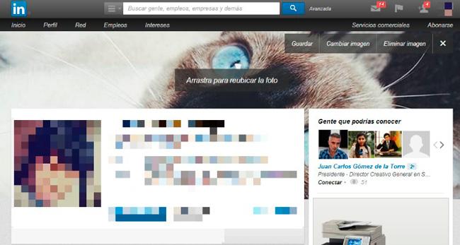 Imágenes de perfil Linkedin