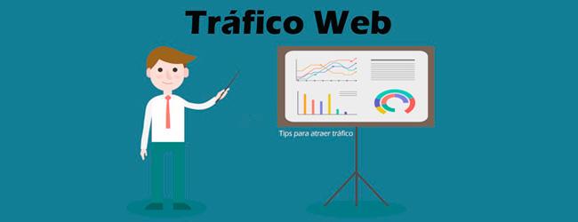 conseguir más tráfico web