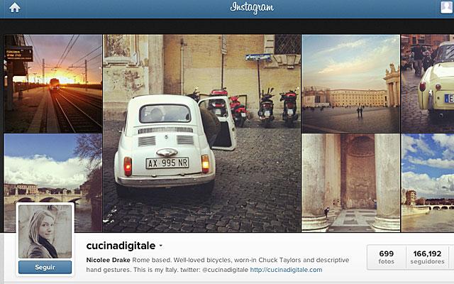 medida de imagen de perfil Instagram