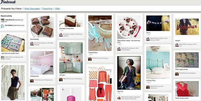 Tamaño de imágenes Pinterest