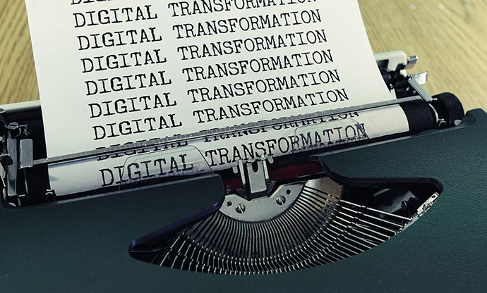 Maquina de escribir transformacion digital
